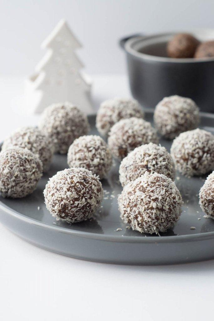 Rezept für einfache & leckere Zimt Energyballs