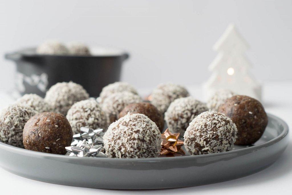 Zimt Energyballs statt Schokolade - super lecker