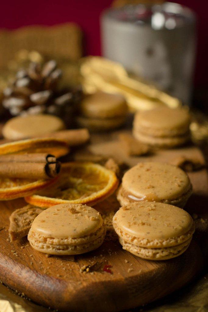 Tolles Geschenk in der Adventszeit - Leckere Spekulatius Macarons