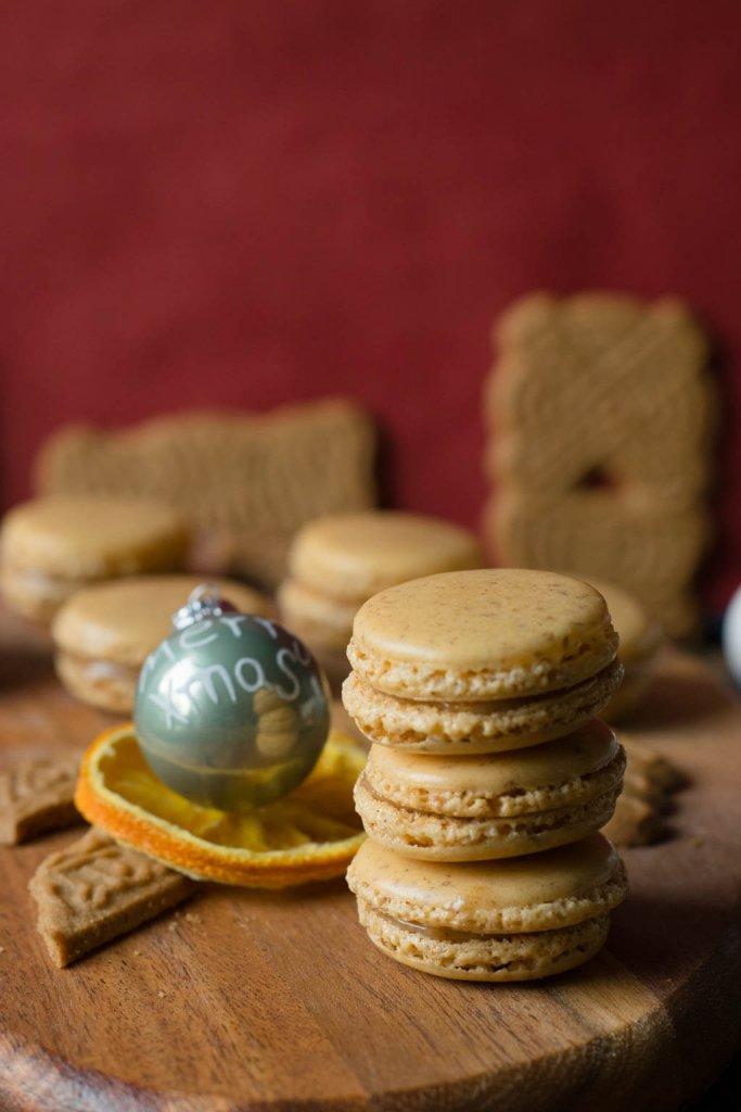Geschenke aus der Küche: Leckere Spekulatius Macarons