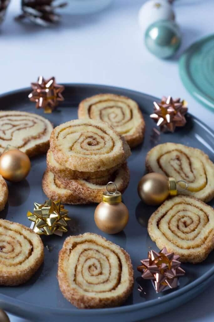 Weihnachtskekse Einfach Und Lecker.Zimtschnecken Weihnachtsplätzchen