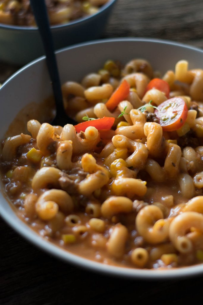 Käse Bolognese Suppe