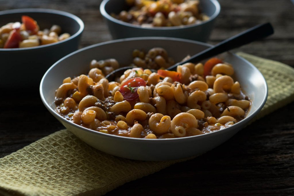 one pot pasta hackfleisch