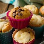 schokoladen chip muffins