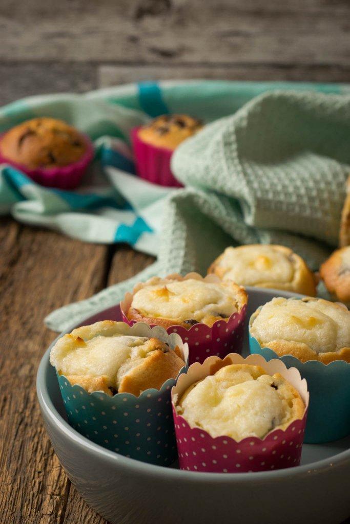 Super einfach: chocolate chip muffins rezept
