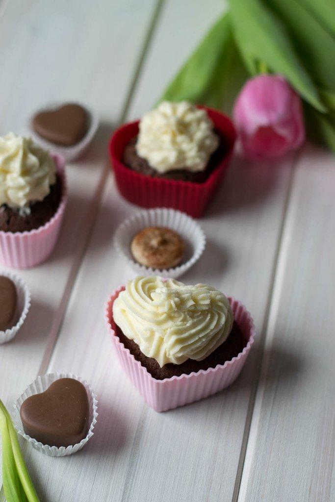 valentinstag kuchen in herzform
