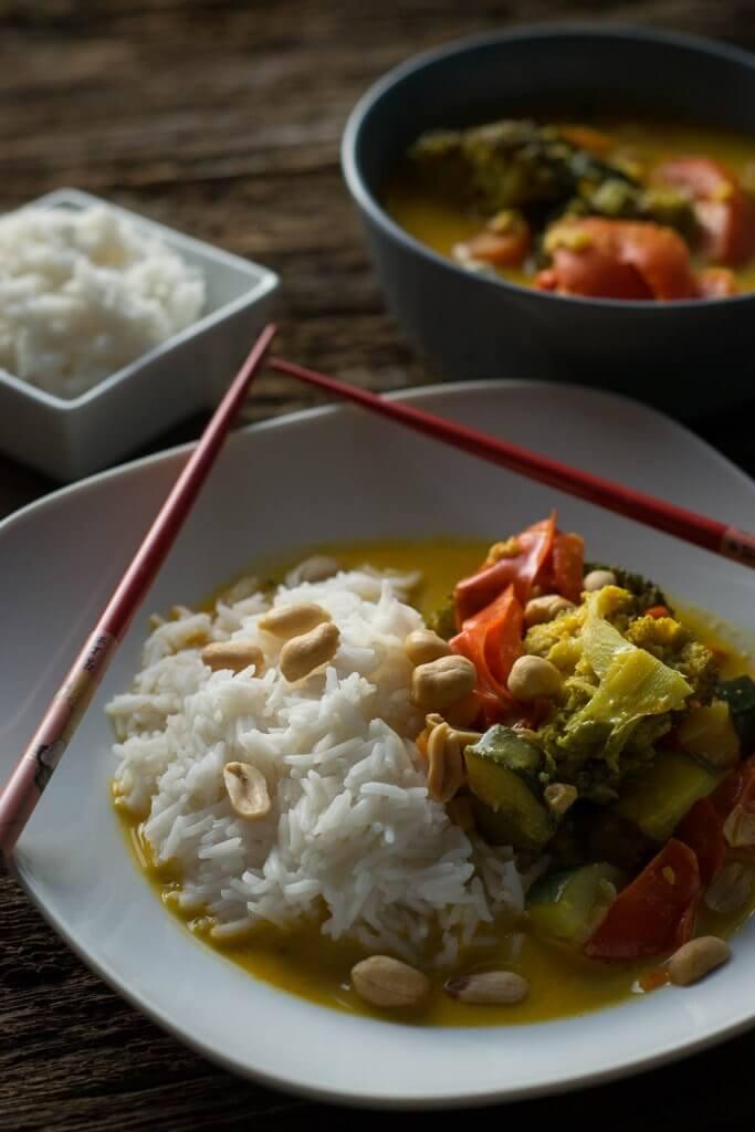 Geniale Küche - Thai Curry Gemüse Rezept