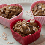 gesunde bananen haferflocken muffins