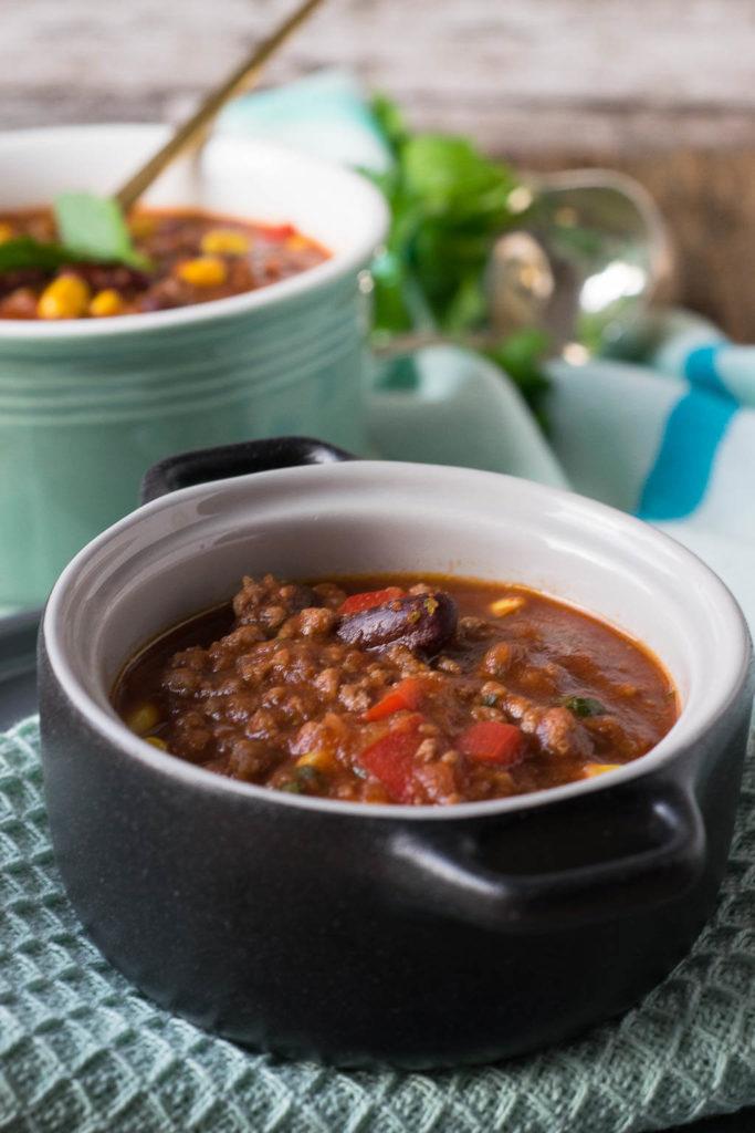 So lecker und einach zubereitet - Chili con Carne - perfekt aus dem Slowcooker