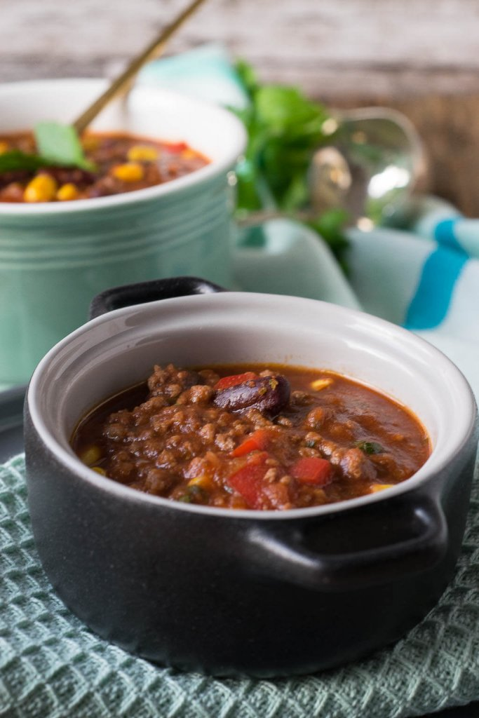 Super lecker - slow cooker chili rezept