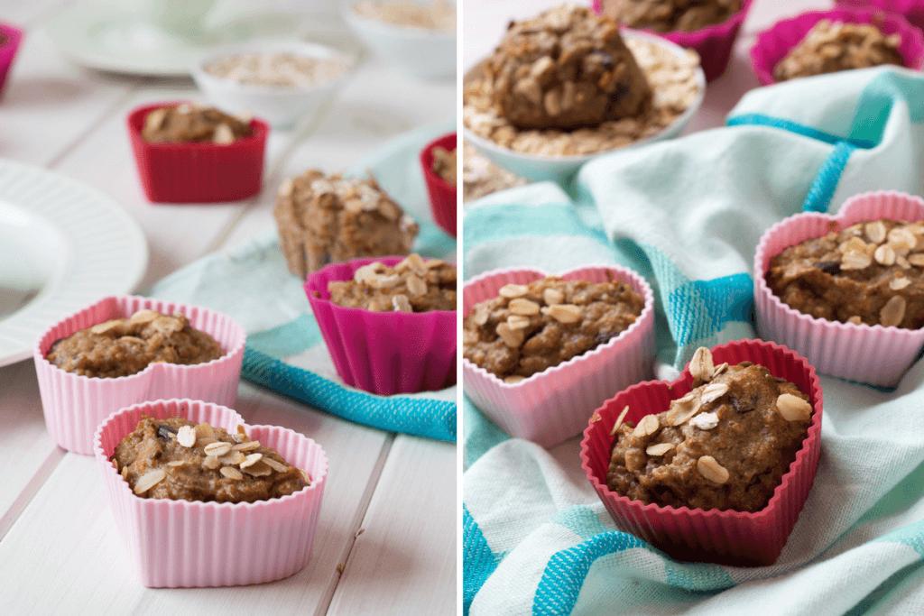 bananen haferflocken muffins ohne zucker