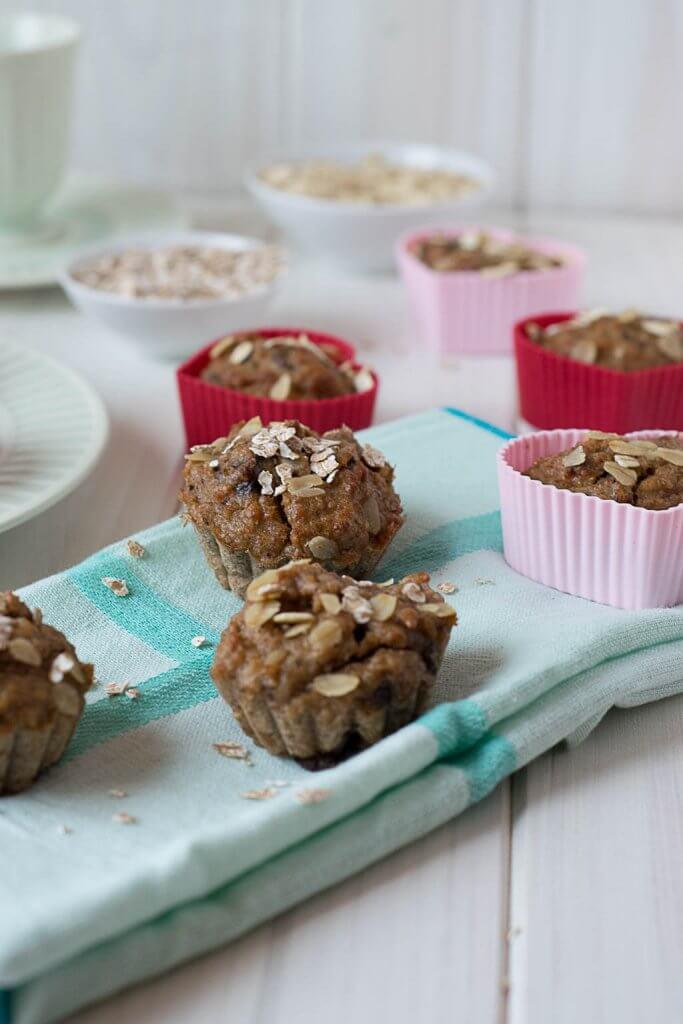 muffins ohne zucker mit banane