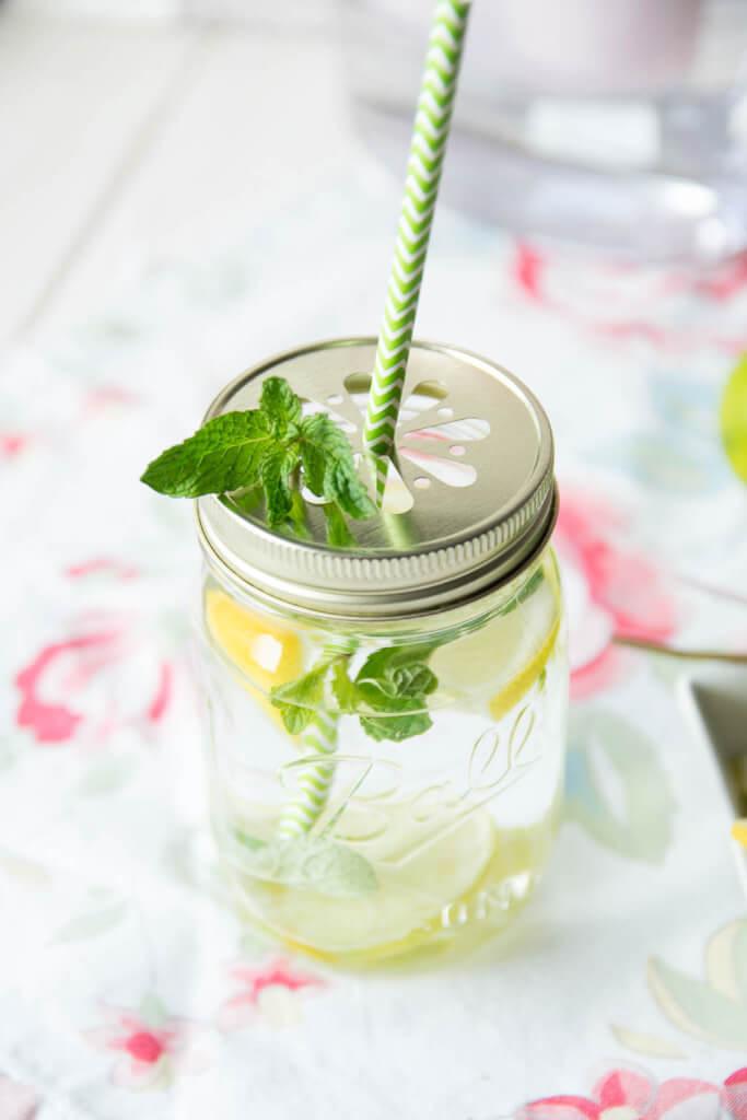 Super lecker - Erfrischungsgetränk Limette Minze