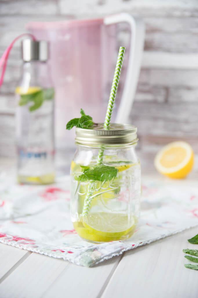 Leckeres Wasser mit Magnesium Mineralizer