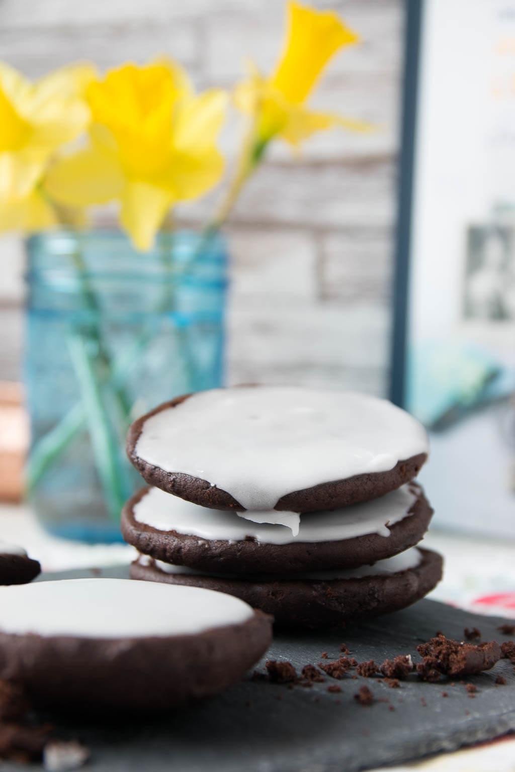 Kuchen auf die Hand - perfekt für Chocolate Victims wie mich