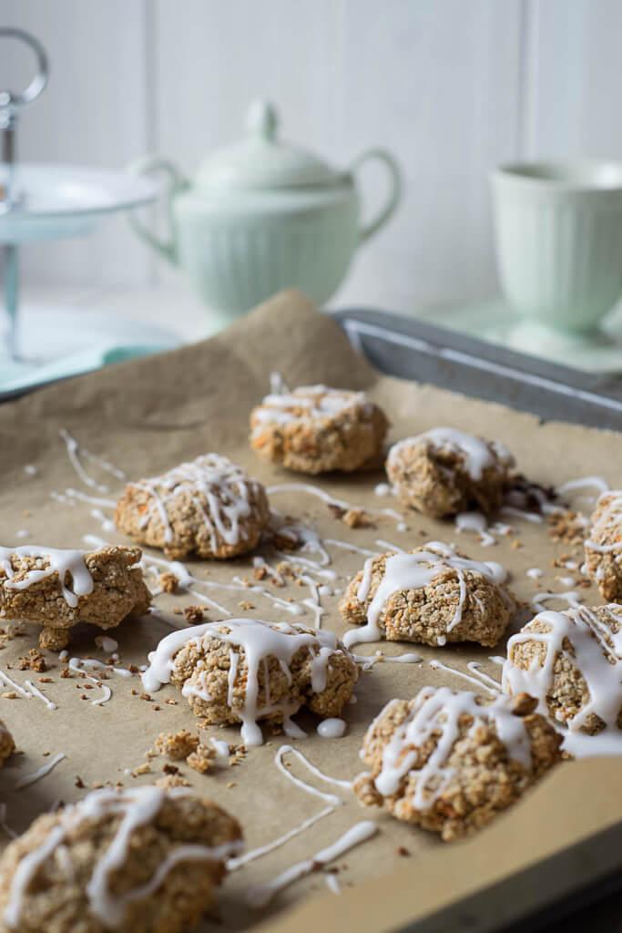rübli kekse mit Zuckerguss