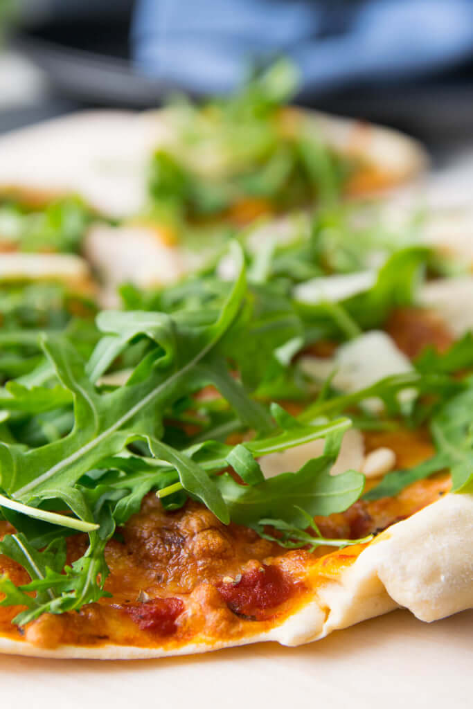 Liebe geht durch den Magen - super leckere Pizza mit Dinkelmehl