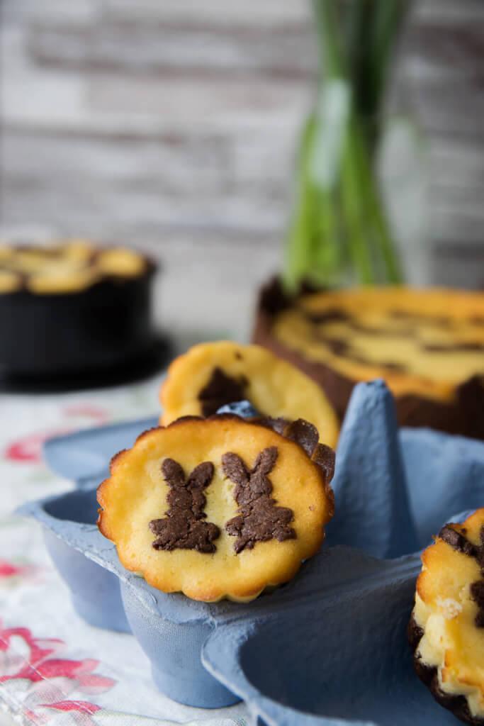 Osterrezept - Russische Zupfkuchen Muffins
