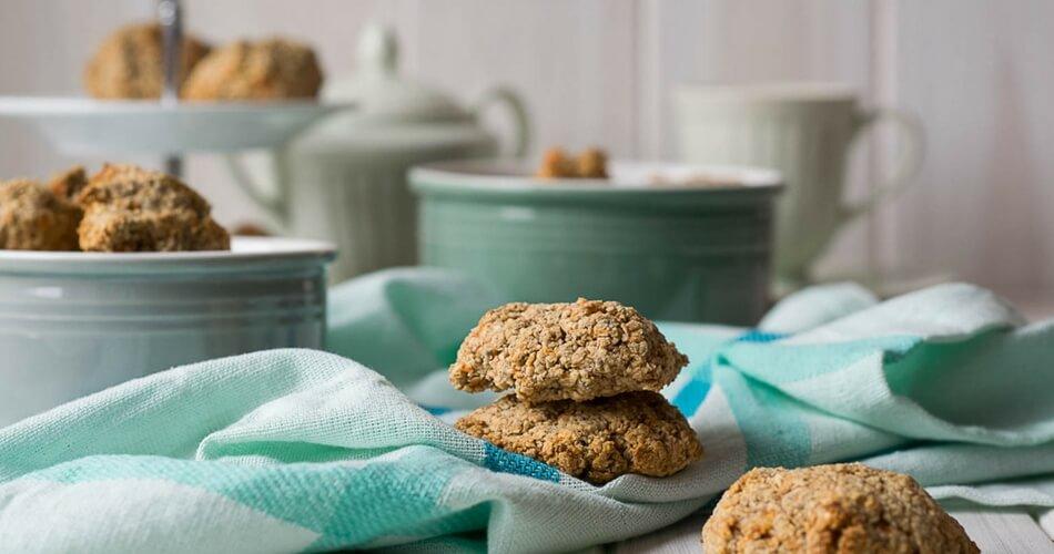 Carrot Cake Cookies – Haferflockenkekse mit Möhren