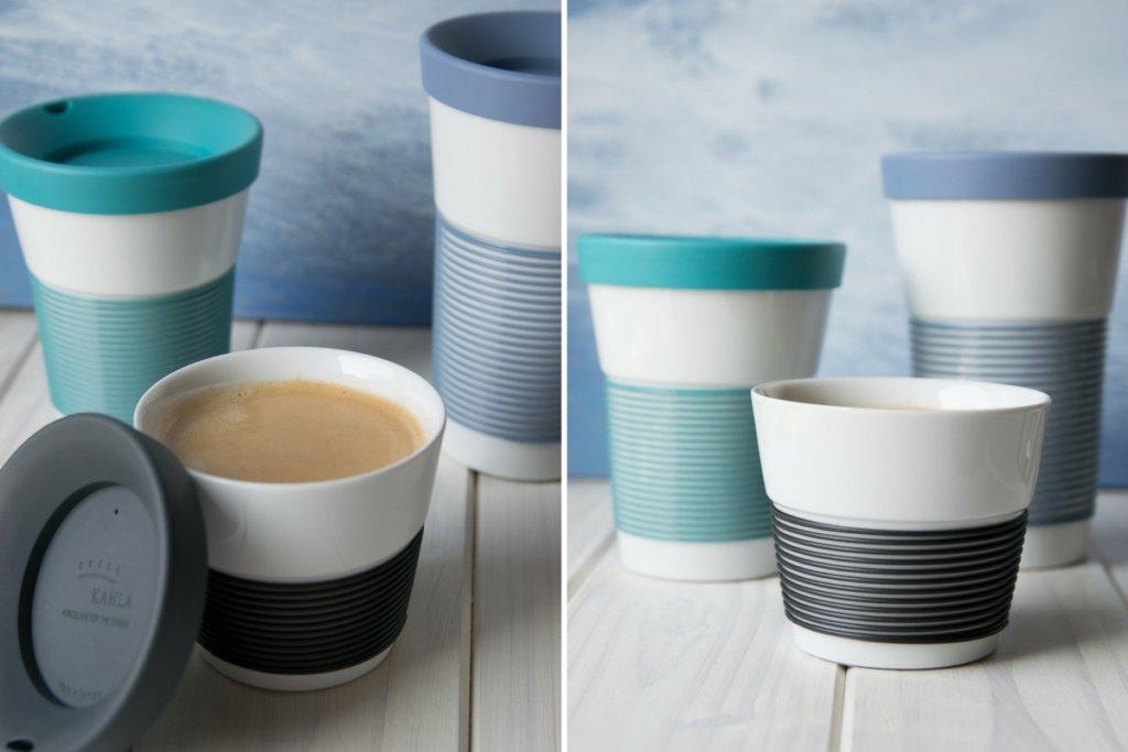 Porzellan Coffee to go Becher