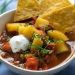 Rezept Kartoffeleintopf mit Hackfleisch