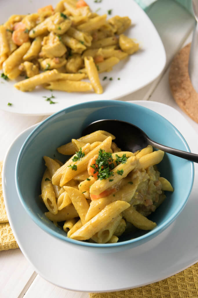 Super lecker - Pasta in Curry Sauce