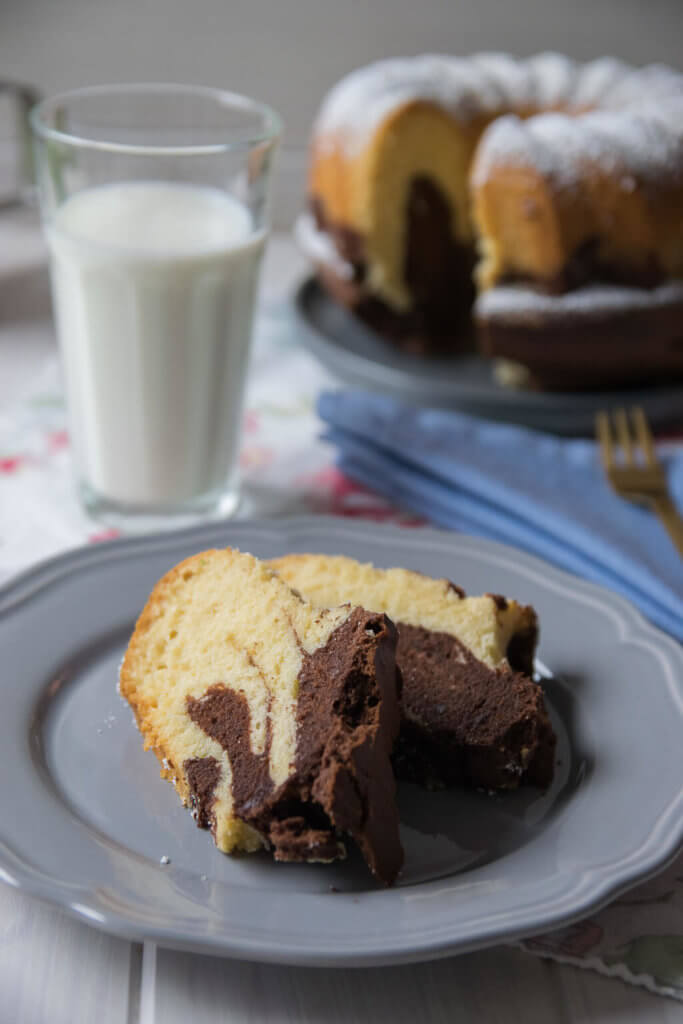Mein liebster Kuchen -Marmor Guglhupf