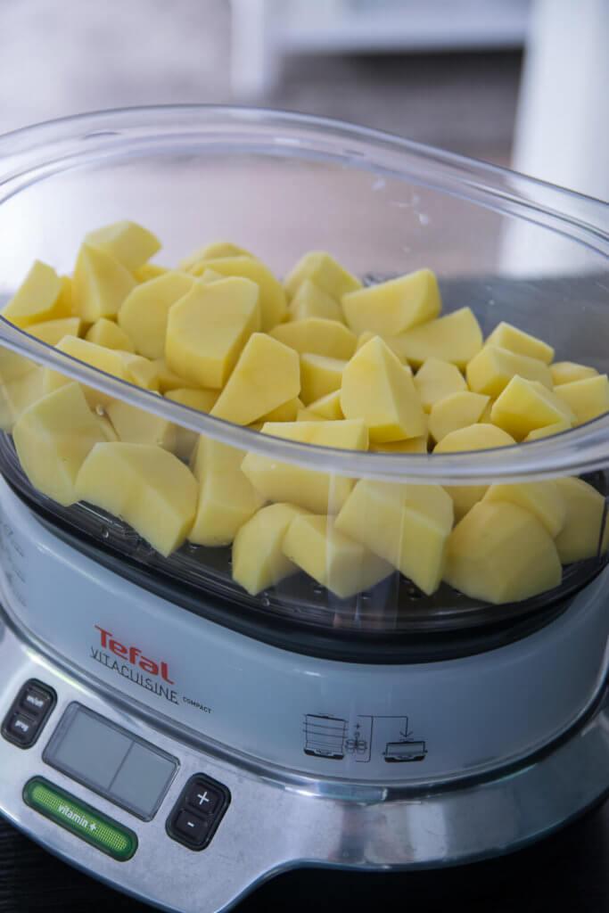 Kartoffeln ganz einfach zubereiten im Dampfgarer