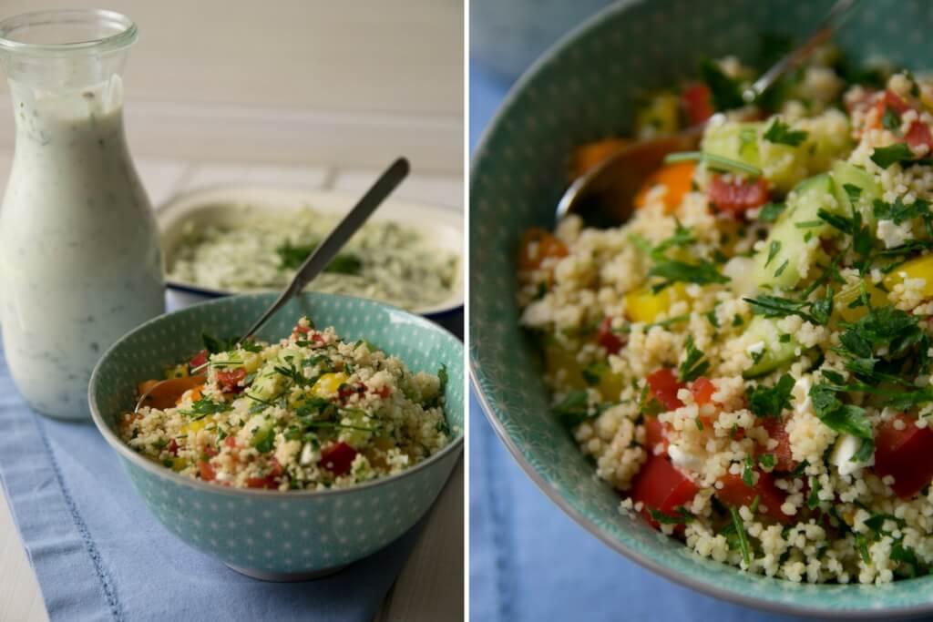 Leckerer Couscous Salat