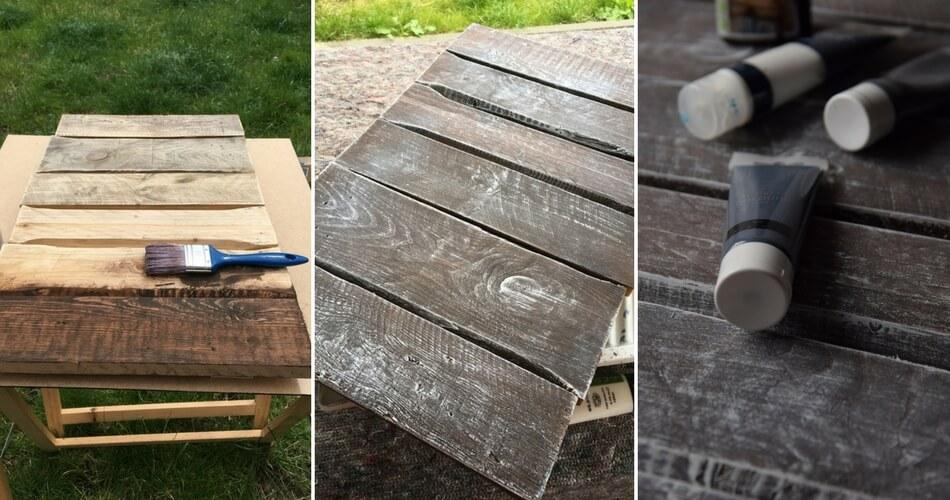 So stellst du deinen eigenen Fotountergrund mit alten Holzbrettern her