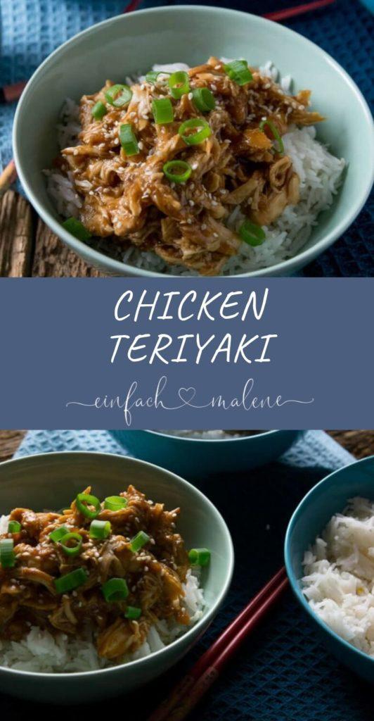 Dieses Rezept für Chicken Teriyaki ist der Hammer - zart & unkompliziert. Wenn es einfach sein soll, probiere dieses Rezept unbedingt aus! Perfektes Rezept, wenn du keine Lust zum Kochen hast - auch zur Zubereitung im Slowcooker. #slowcooker #einfacherezepte #teriyaki