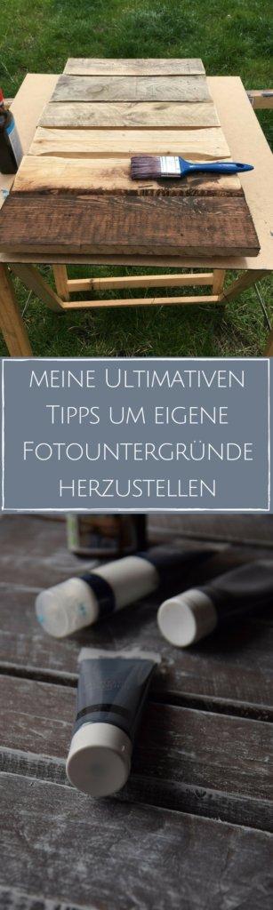 DIY-Tipps zur Herstellung günstiger und wirkungsvoller Fotountergründe für Foodfotos und Produktpräsentation - hilfreiche Tipps für Blogger & Influencer