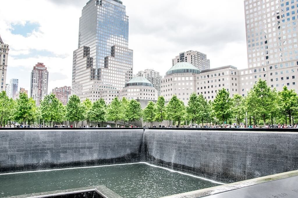 National 9/11 Memorial am Ground Zero & World Trade Center