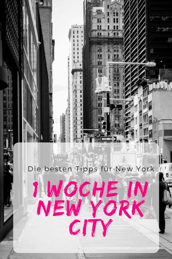 Eine Woche in New York - der Stadt die niemals schläft - Tell About It