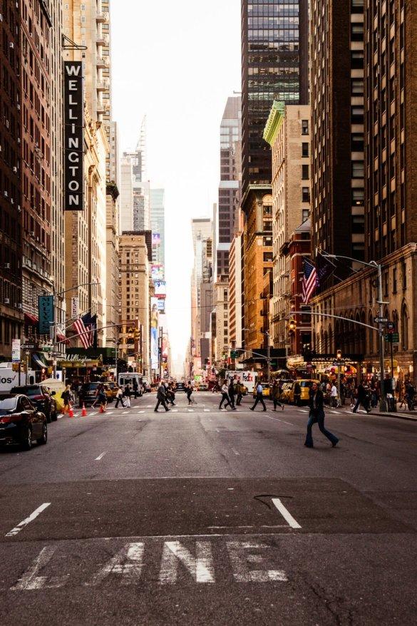 In den Straßen von New York