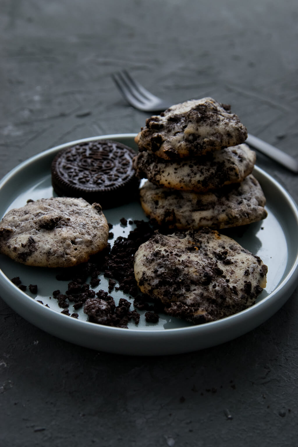 Cheesecakecookies mit OREOS