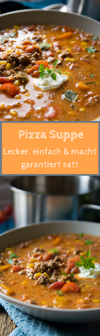 Pizzasuppe