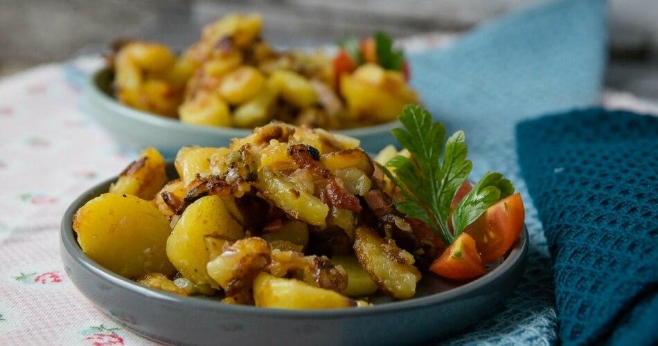 Knusprige Bratkartoffeln die schmecken wie von Mama gemacht