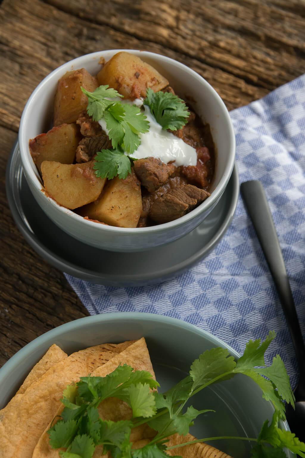 Super lecker - Curry Kartoffel Rindfleisch Topf