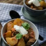 Curry Kartoffel Rindfleisch Topf