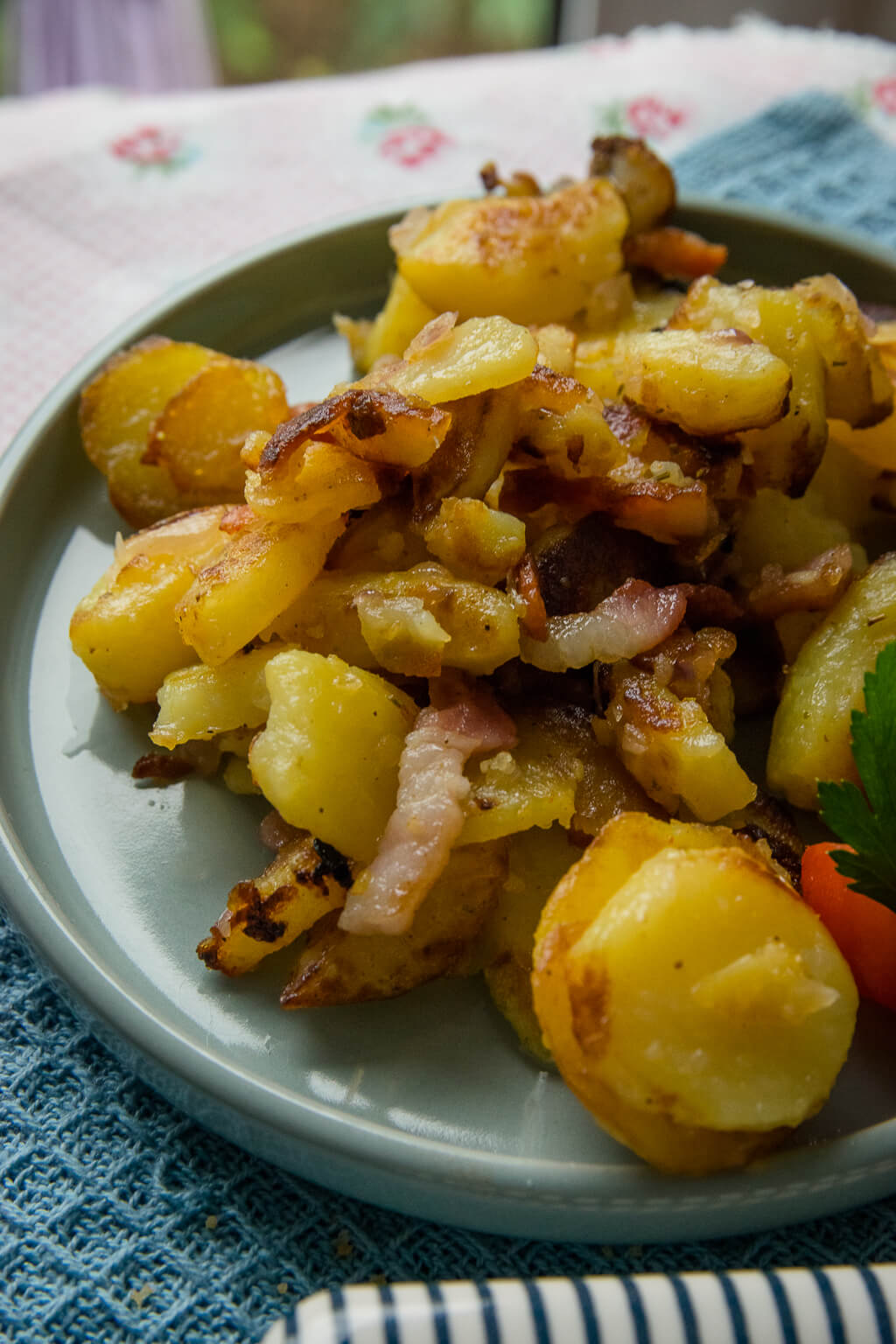 So müssen Bratkartoffeln schmecken