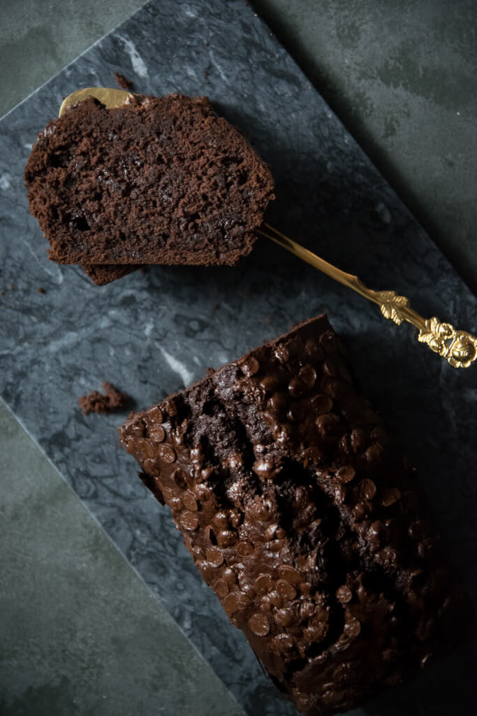 Chocolate Banana Bread oder auch der saftigste Schokokuchen der Welt