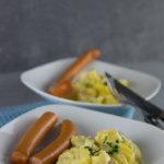 Cremig und super einfach zuzubereiten - Kartoffelsalat mit leichter Mayo