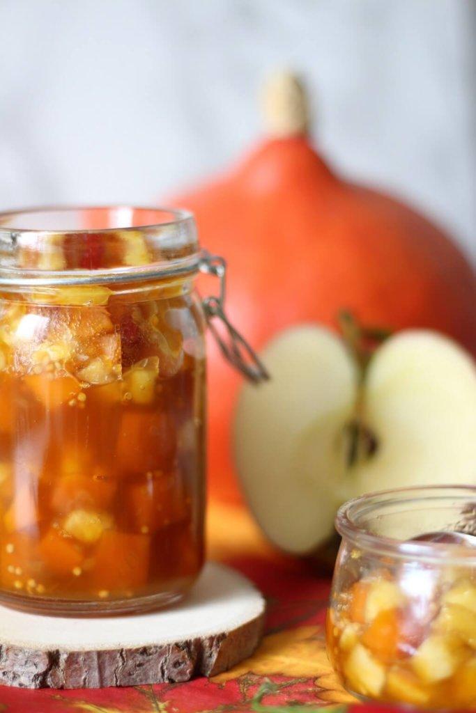 Herbstliebe . das perfekte Rezept im Herbst - Kürbis Apfel Chutney