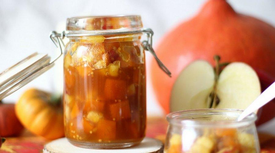 Herbstliches Kürbis-Apfel-Chutney