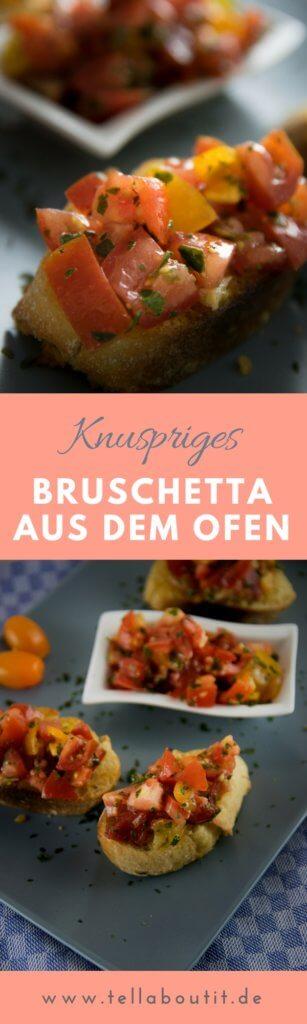 Italienisches Ofen Bruschetta ganz einfach selber machen