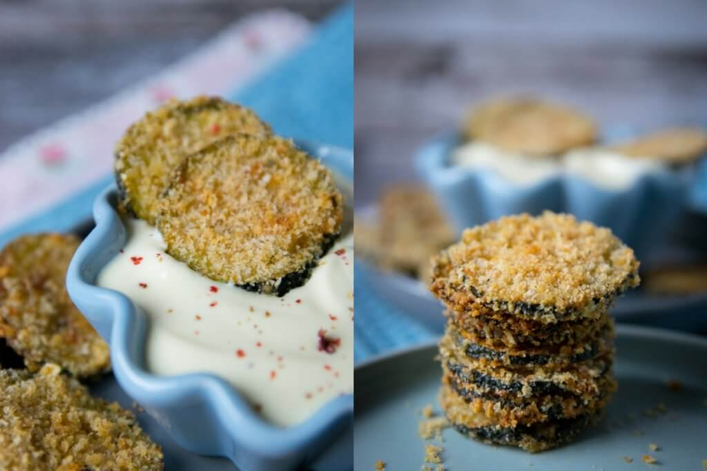 zucchini parmesan chips low carb