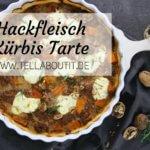 Kürbis und Hackfleisch Tarte
