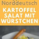 KSo muss Kartoffelsalat schmecken, der norddeutsche Kartoffelsalat wird mit Mayonnaise zubereitet und mit diesem Rezept gelingt er garantiert.
