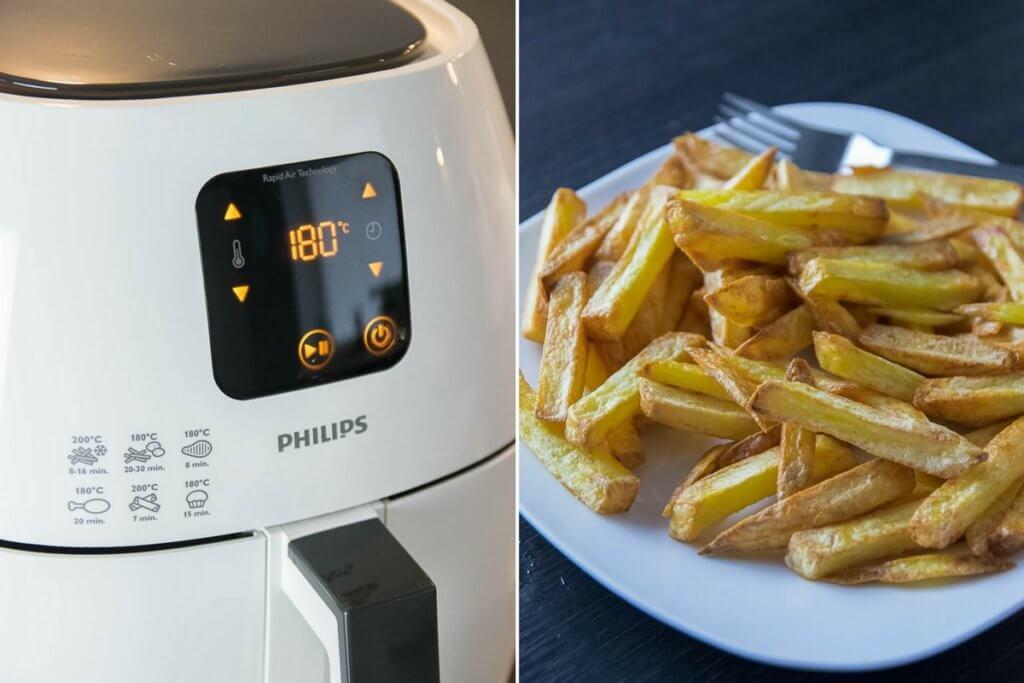 So knusprig werden deine Pommes in der Heißluftfritteuse